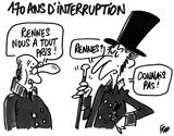 170 ans d'interruption
