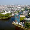 L'Institut d'études avancées jouxte le mythique stade Marcel Saupin et la Loire