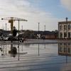 Le campus centre ville s'étend jusque sur l'Ile de Nantes où se trouve la grue Titan, témoignage du passé industriel de la ville